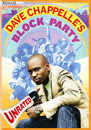 Dave Chappelle's Block Party Unrated DVD Full Screen w/ Case