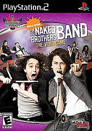 Nickelodeon Rock University The Naked Brothers Band Video Game Playstation 2