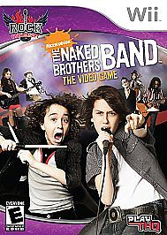 Nickelodeon Rock University The Naked Brothers Band Video Game Nintendo Wii