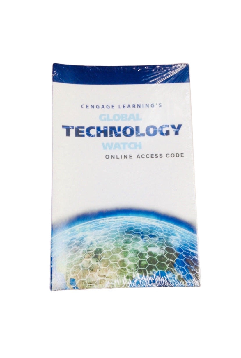 Cengage Learning Global Technology Watch Online Access Code Card First Edition