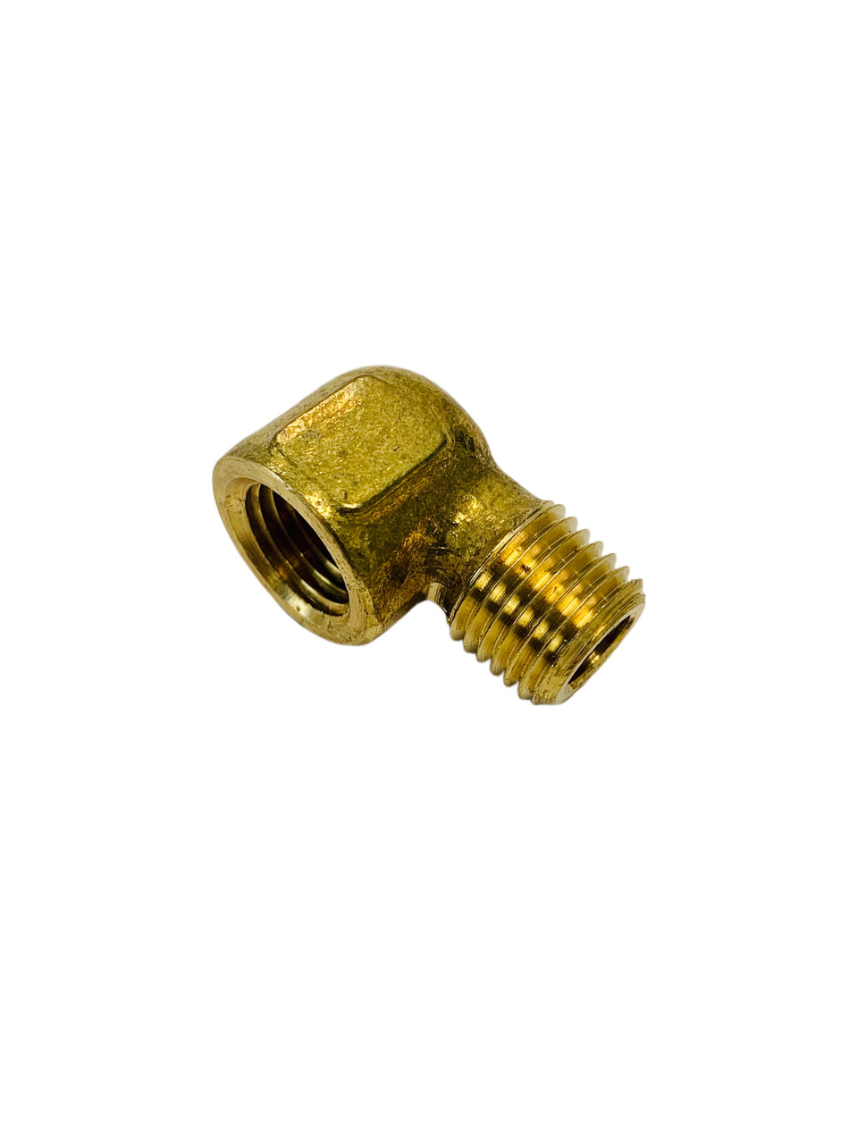 "Brass P-310-4 Male to Female 90° Connecter 1/4"" x 1/4"" Adapter Fitting"