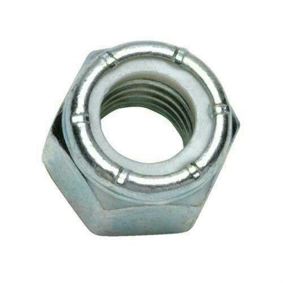 "1/2"" Sae 18-8 Stainless Steel Hex Nylon Insert Lock Nut 1/2-20UNF *Pack of 1000*"
