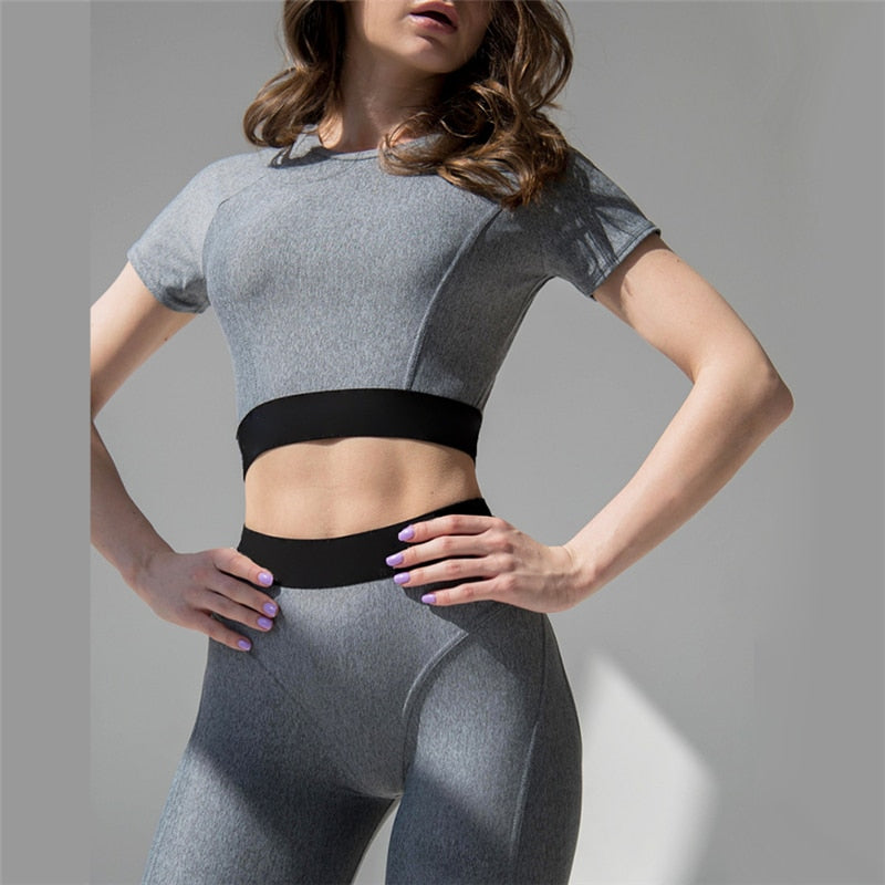 Yoga Set Gym Clothing Sport Store Sport Suit Women Fitness Clothing Sportswear Sports Female Gym Clothes Joga Active Wear - piranhagym