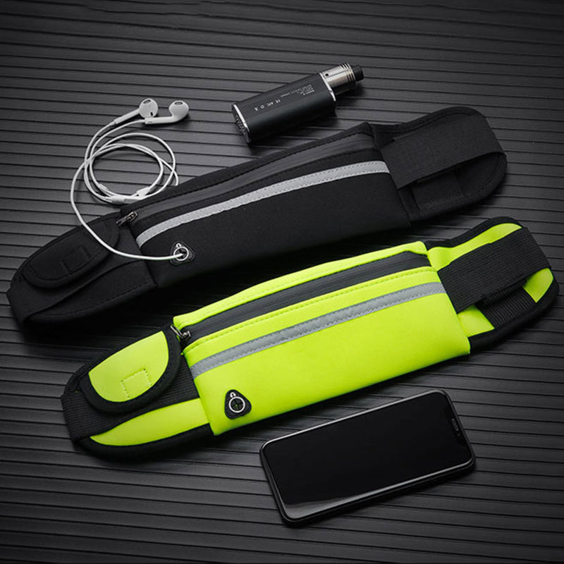 New Running Waist Bag Waterproof Phone Container Jogging Hiking Belt Belly Bag Women Gym Fitness Bag Lady Sport Accessories - piranhagym