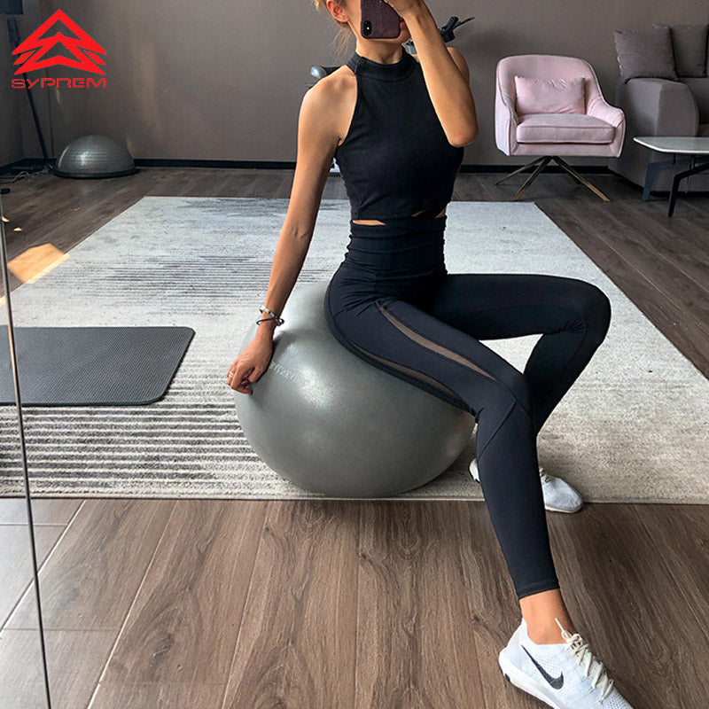 SYPREM leggings mesh high waist yoga black grils leggings high elastic new sexy girls yoga crossfit pants leggings,CK181015 - piranhagym