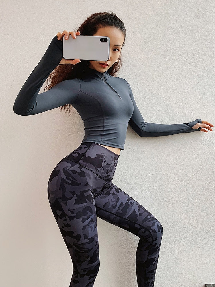 Camo Leggings TRYD27 - piranhagym