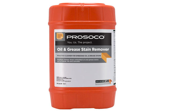 PROSOCO Oil and Grease Stain Remover