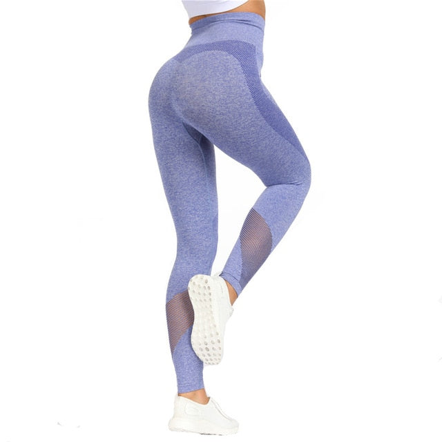 High Waist Stretchy Flex Seamless Leggings for Women SQUAT PROOF 4 Colors