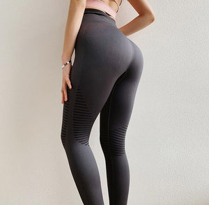 High Waist Seamless Fitness Leggings for Women Yoga Pants Squat Proof 4 Colors