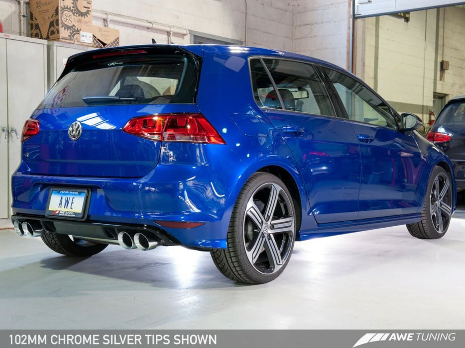 AWE Tuning Volkswagen Golf Mk7 Golf 'R' SwitchPath Exhaust System