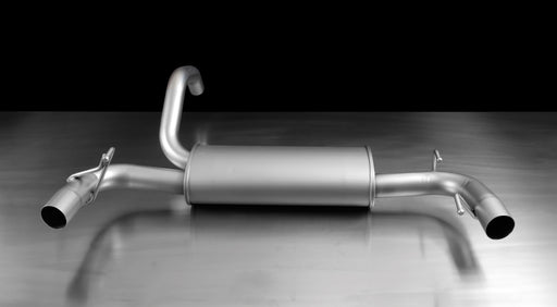 Remus sport exhaust centered for left/right system Abarth 500