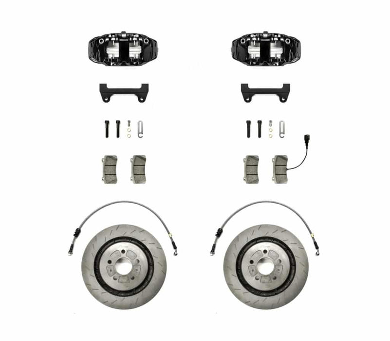 Racingline Stage 2 Monoblock Big Brake Kit – 345mm Rotors with 4 Pot Calipers - Diversion Stores Car Parts And Modificaions