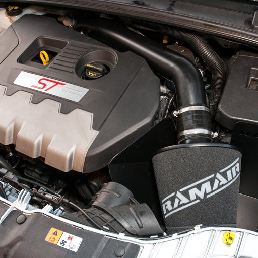 RamAir Ford Focus ST 250 mk3 2.0T 2015 onwards – Air Filter Heat Shield Crossover Hard Pipe Induction Kit