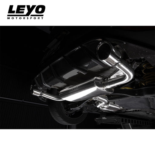 Leyo Motorsport Cat Back Exhaust System - Golf GTI Mk7
