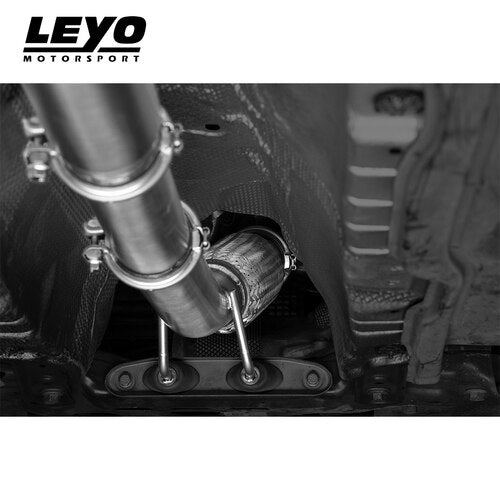 Leyo Motorsport Downpipe & Sports Cat - Golf GTI Mk7