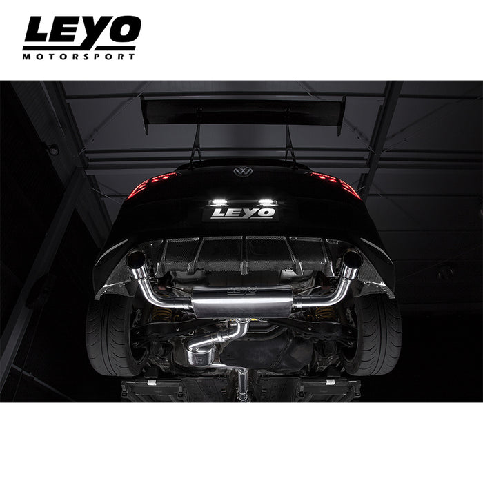 Leyo Motorsport Turbo Back Exhaust System - Golf GTI Mk7