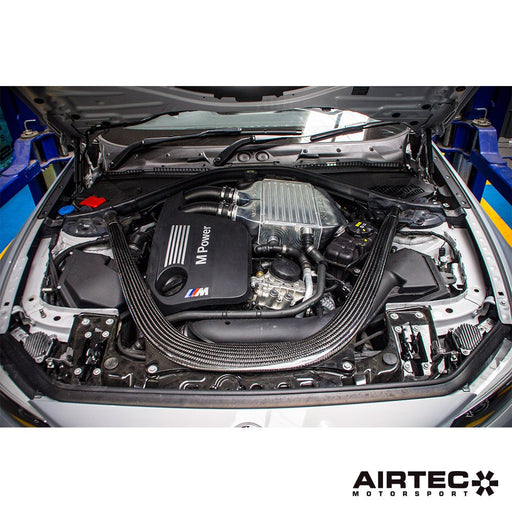 AIRTEC Motorsport Billet Chargecooler Upgrade for BMW S55 (M2 Competition, M3 and M4)