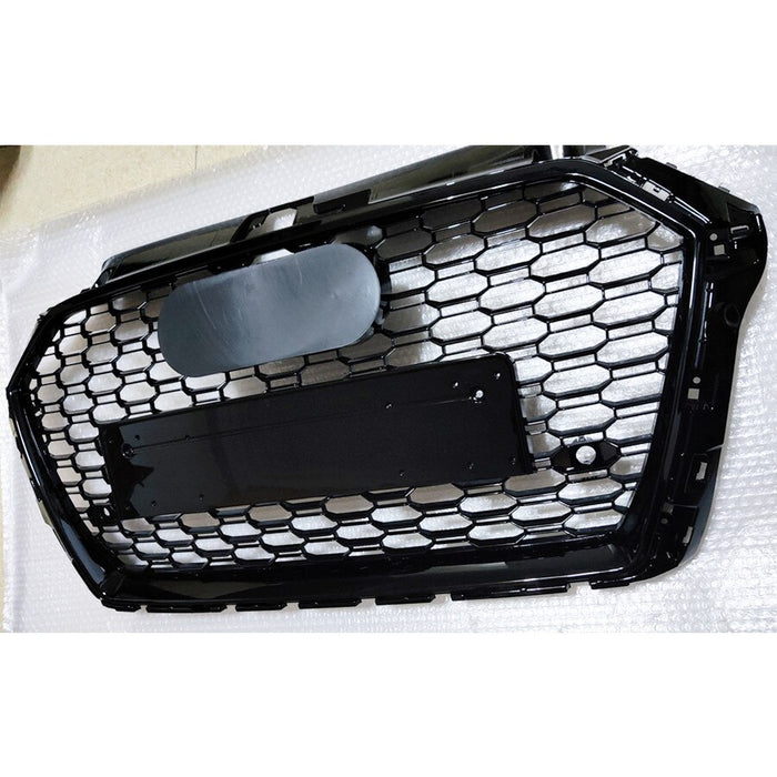 Audi A3 / S3 8V Gloss Black Replacement Honeycomb Grille (2017 - 2020 Models)