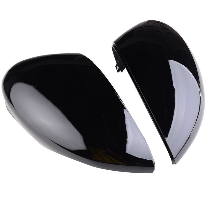Ford Fiesta Gloss Black Wing Mirror Covers Pair (2008 - 2017 Models) - Diversion Stores Car Parts And Modificaions