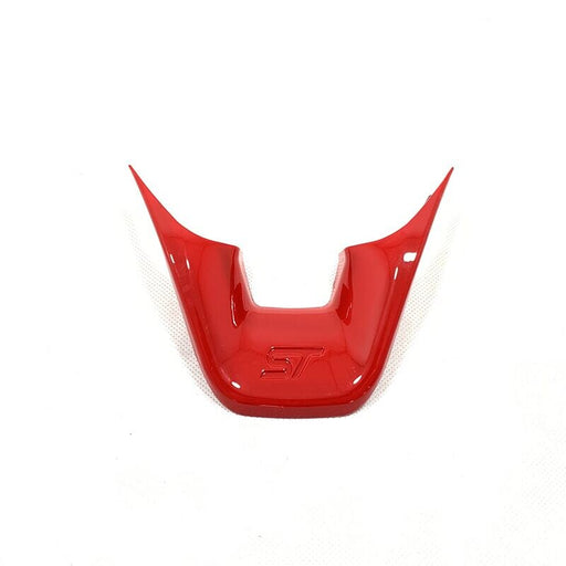 Ford Fiesta Vibrant Red Steering Wheel Trims (MK8 / 2018+)