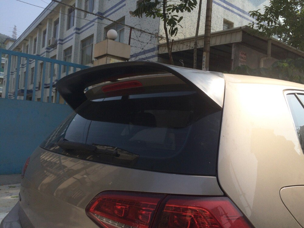 066 - Volkswagen Golf Carbon Fibre Spoiler - MK7/7.5 (2013-2019) - Diversion Stores Car Parts And Modificaions