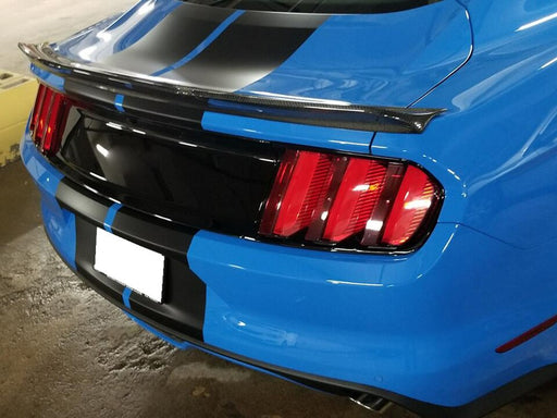 096 - Ford Mustang Coupe Carbon Fibre Spoiler Lip (2015-2017 Models) - Diversion Stores Car Parts And Modificaions