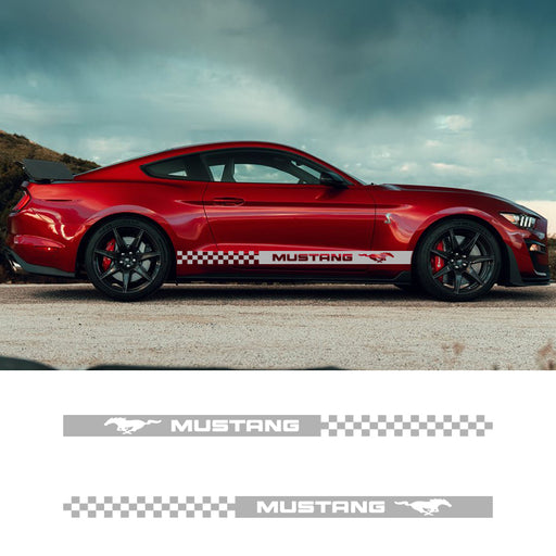 2X Car Decals For Ford Mustang - Diversion Stores Car Parts And Modificaions