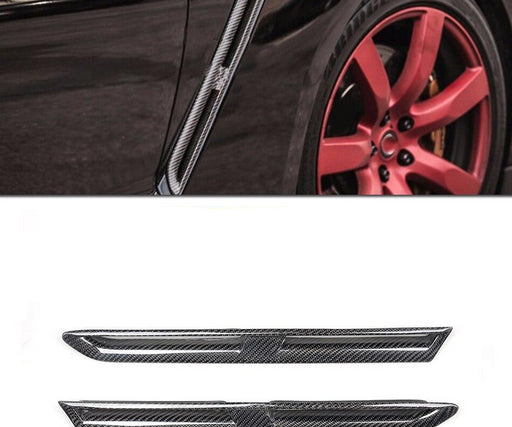 053 - Nissan GT-R R35 Base Model Coupe Carbon Fibre Fender Vents 2008-2016 - Diversion Stores Car Parts And Modificaions