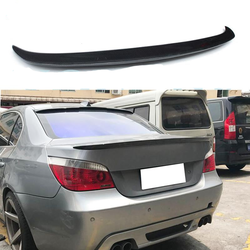019 - BMW 5 Series 4 Door Sedan Boot Spoiler Lip - Diversion Stores Car Parts And Modificaions