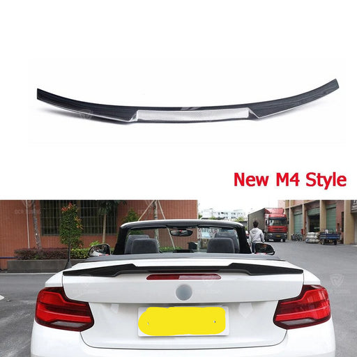 009 - BMW F22/F23 Carbon Fibre Rear Boot Spoiler (2014 Onward) - Diversion Stores Car Parts And Modificaions