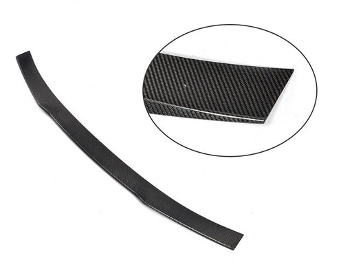 097 - Ford Mustang Coupe Carbon Fibre Spoiler Lip (2015-2017 Models) - Diversion Stores Car Parts And Modificaions