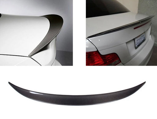 039 - BMW 1 Series E82 (2011-2013) Carbon Rear Boot Spoiler - Diversion Stores Car Parts And Modificaions