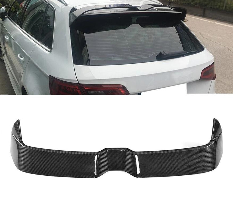 Audi A3 / S3 / RS3 Carbon Fibre Oettinger Style Spoiler (2013 - 2020 Models) - Diversion Stores Car Parts And Modificaions