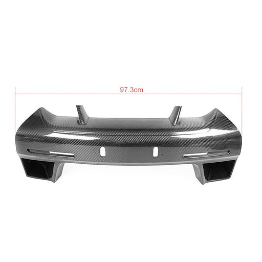 052 - Nissan GT-R R35 Carbon Fibre Front Bumper Grill Plate Bar (2008-2016) - Diversion Stores Car Parts And Modificaions