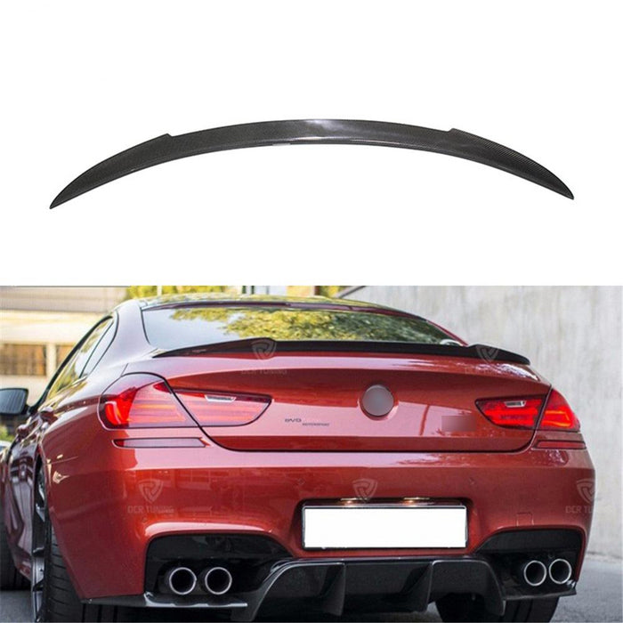 014 - BMW 6 Series 4-Door F06 Boot Spoiler 2014>2019 - Diversion Stores Car Parts And Modificaions