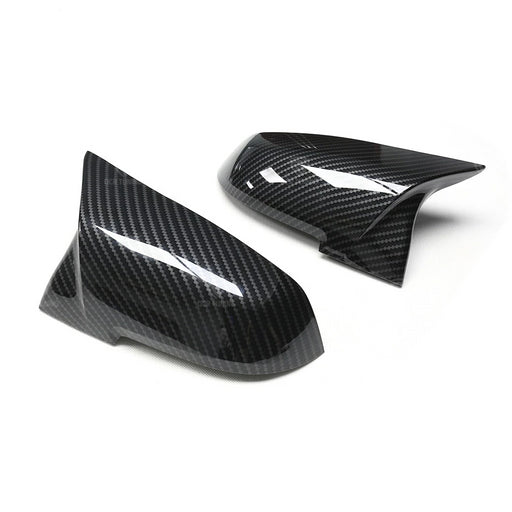 194 - BMW 1/2/3/4 Series Gloss Carbon Look Wing Mirror Covers - Diversion Stores Car Parts And Modificaions