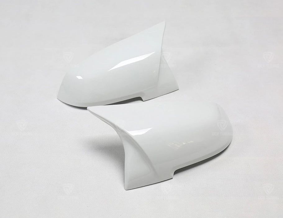193 - BMW 1/2/3/4 Series Alpine White Wing Mirror Covers - Diversion Stores Car Parts And Modificaions