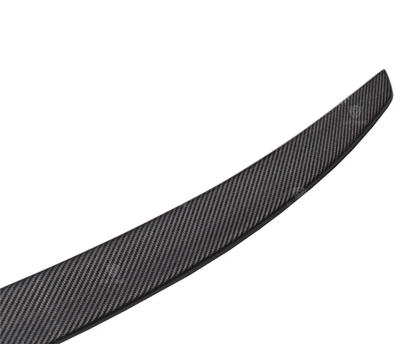 170 - Audi A4 B9 Carbon Fibre Boot Spoiler (2016 - UP) - Diversion Stores Car Parts And Modificaions