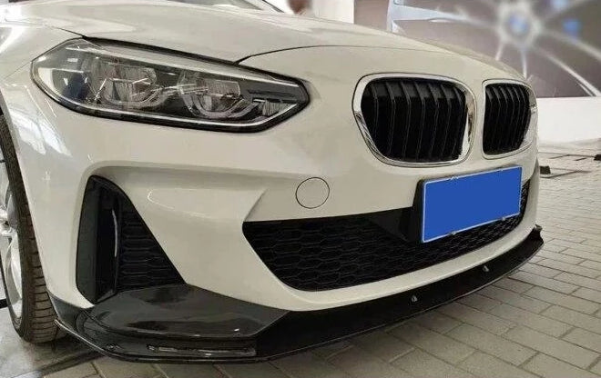 020 - BMW 1 Series M Sport 2019 PP Glossy Black Front Splitter - F20 - Diversion Stores Car Parts And Modificaions