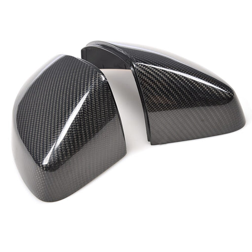 Audi A3 / S3 / RS3 Genuine Carbon Fibre Mirror Replacement Covers (2012 - UP) - Diversion Stores Car Parts And Modificaions