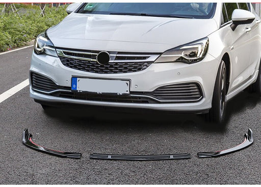 137 - Vauxhall VX Line / Opel OPC Line Astra K Front Splitter (2015-2019 Models) - Diversion Stores Car Parts And Modificaions
