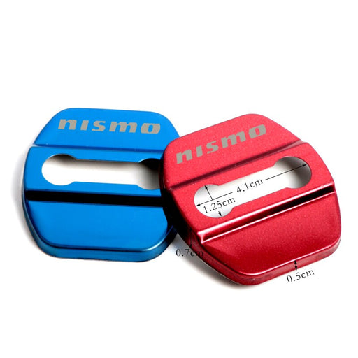 224 - NISMO 4x Car Door Lock Covers For Nissan - Diversion Stores Car Parts And Modificaions
