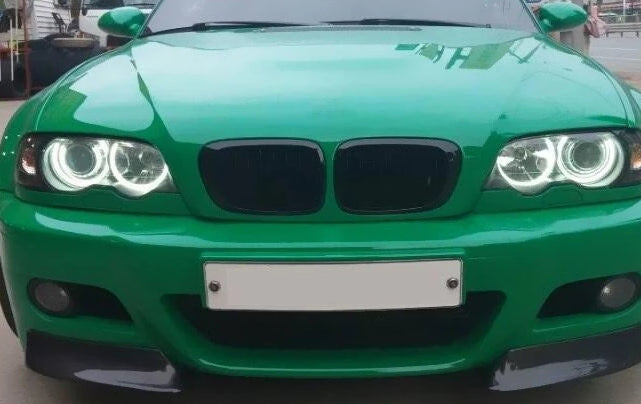 030 - Carbon Fibre BMW E46 M3 Bumper Splitter - Diversion Stores Car Parts And Modificaions
