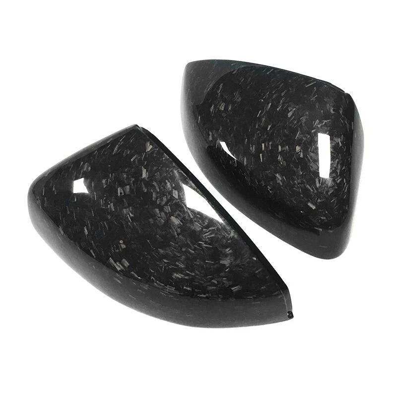 Audi A3 / S3 / RS3 Genuine Forged Carbon Fibre Mirror Replacement Covers (2014 - UP Without Lane Assist) (Without Lane Assist) - Diversion Stores Car Parts And Modificaions