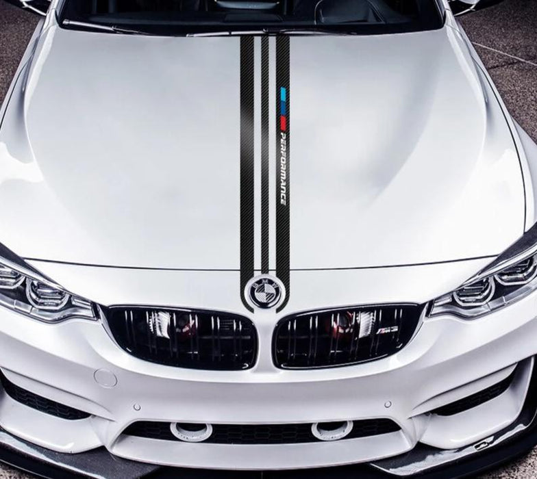 Bonnet / Hood decal for BMW M3 / M4 / M5 / M6 - Diversion Stores Car Parts And Modificaions