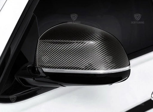 208 - BMW X3/X4/X5/X6 Carbon Fibre Wing Mirror Covers (Replacement Or Add On Style) 2014 - UP - Diversion Stores Car Parts And Modificaions