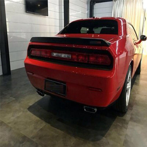 Dodge Challenger Rear Trunk / Boot Ducktail Spoiler Lip (2008 to 2013 Models)