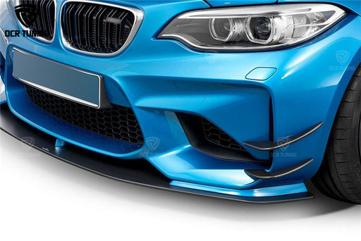 171 - BMW M2 Carbon Fibre Front Canards (2014 - UP) - Diversion Stores Car Parts And Modificaions