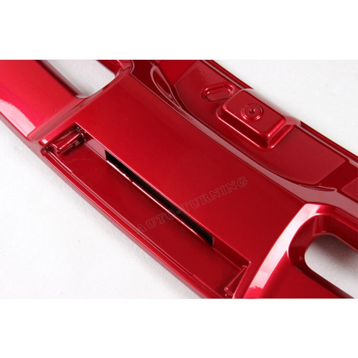 090 - Ford Focus Lifted Rear Wing (2012-2014 Models) Ruby Red - Diversion Stores Car Parts And Modificaions