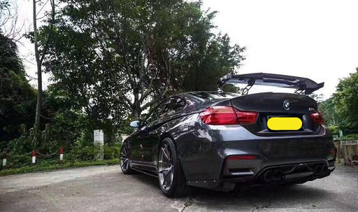 013 - BMW M1 M3 M4 M5 M6 MAD Carbon Fibre GT Spoiler - Diversion Stores Car Parts And Modificaions